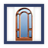 bowed top window